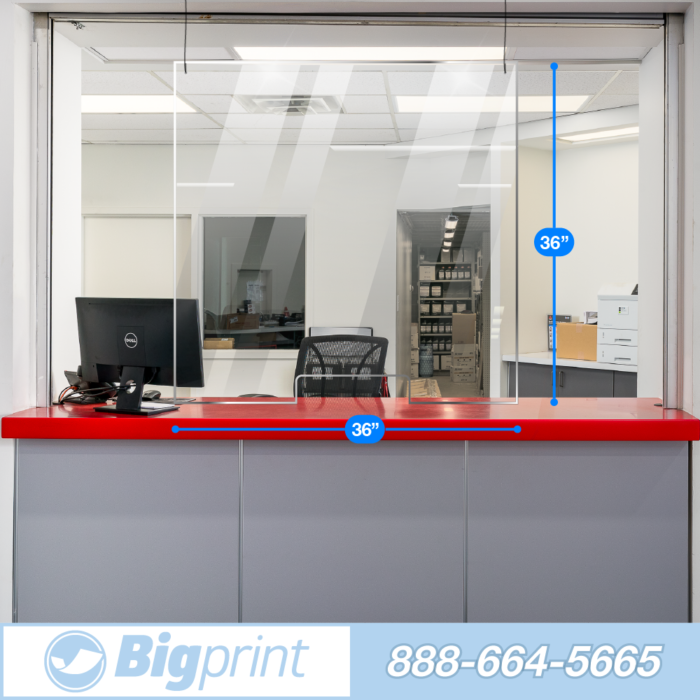easy hanging sneeze guard single person extra wide barrier with cutout to slow the spread of covid and airborne illness transaction
